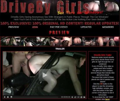 DrivebyGirls - SiteRip