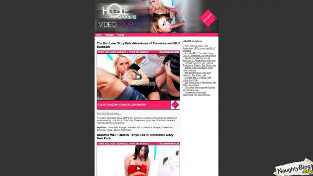 Naughty Blog Cover